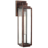 Kalco 403822CP Chester Outdoor 1 Light 5 inch Copper Patina Wall Sconce Wall Light