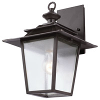 Kalco 404120AI Saddlebrook 1 Light 14 inch Aged Iron Outdoor Wall Sconce