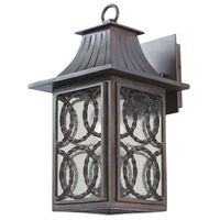 Kalco 404220AGB Monterey 1 Light 15 inch Aged Bronze Outdoor Wall Sconce