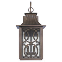Kalco 404221AGB Monterey 2 Light 22 inch Aged Bronze Outdoor Wall Sconce