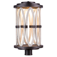 Kalco 404400FG Belmont LED 24 inch Florence Gold Outdoor Post Mount