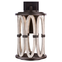 Kalco 404421FG Belmont Outdoor LED 11 inch Florence Gold Wall Sconce Wall Light