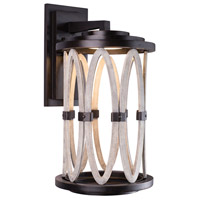 Kalco 404422FG Belmont LED 24 inch Florence Gold Outdoor Wall Sconce