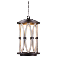 Kalco 404450FG Belmont Outdoor LED 13 inch Florence Gold Hanging Lantern Ceiling Light