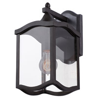 Kalco 404520AI Lakewood Outdoor 1 Light 7 inch Aged Iron Wall Sconce Wall Light