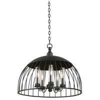 Ludlow 5 Light 24 inch Natural Iron Pendant Ceiling Light