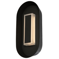 Kalco 405121MB Prescott LED 13 inch Matte Black Outdoor Wall Sconce