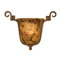 Kalco Ibiza 1 Light Wall Sconce in Bellagio 4265BG/PS05