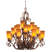 Kalco 4274MG/1209 Ibiza 20 Light 51 inch Modern Gold Chandelier Ceiling Light