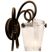 Tribecca 1 Light 9 inch Country Iron Vanity Light Wall Light
