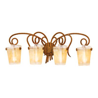 Kalco Tribecca 4 Light Bath Light in Tuscan Sun 4284TN/G11C