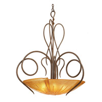 Kalco Lighting Tribecca 6 Light Pendant in Tortoise Shell 4297TO/G19B