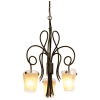 Kalco 4298PS/FROST Tribecca 3 Light 26 inch Pearl Silver Chandelier Ceiling Light