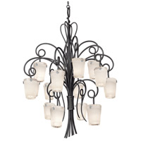 Kalco Lighting Tribecca 16 Light Foyer Pendant in Tortoise Shell 4299TO/FROST