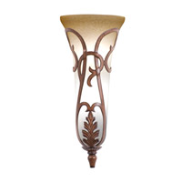 Kalco 4404TN Florentine 3 Light 10 inch Tuscan Sun Wall Sconce Wall Light in Without Glass