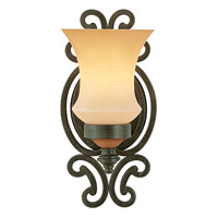 Kalco Lighting Hamilton 1 Light Wall Sconce in Havana 4441HV