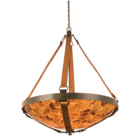Rodeo Drive 6 Light 44 inch Antique Copper Pendant Ceiling Light in Penshell (PS106)