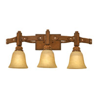 Kalco Rodeo Drive 3 Light Bath Light in Tuscan Sun 4643TN/1313