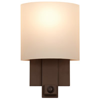 Espille 1 Light 8 inch Satin Nickel Wall Sconce Wall Light in Bronze