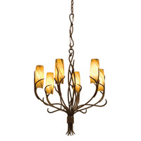 Kalco Napa 6 Light Chandelier in Golden Wheat 4756GW/1451