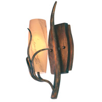 Napa 1 Light 6 inch Golden Wheat Wall Bracket Wall Light in SUNSET