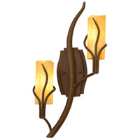 Kalco Lighting Napa 2 Light Wall Sconce in Golden Wheat 4764GW/CALC