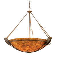Kalco Grande 6 Light Pendant in Antique Copper 4843AC/NS116 photo thumbnail