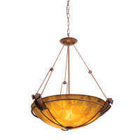 Kalco Grande 5 Light Pendant in Tuscan Sun 4846TN/NS103