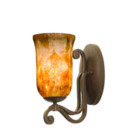 Somerset 1 Light 6 inch Tortoise Shell Wall Sconce Wall Light in Penshell (PENSH)