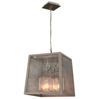 Kalco 500051CI Highland 4 Light 14 inch Country Iron Pendant Ceiling Light