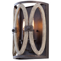 Kalco 500221FG Belmont 2 Light 8 inch Florence Gold Wall Sconce Wall Light