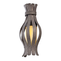 Kalco Lighting Holmes 1 Light Wall Sconce in Charcoal 500320-CL