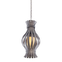 Kalco Lighting Holmes 1 Light Pendant in Charcoal 500351CL