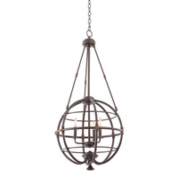 Kalco Lighting Larson 3 Light Pendant in Tawny Port 500451-TP