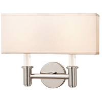 Kalco 500522CH Dupont 2 Light 14 inch Chrome ADA Wall Sconce Wall Light
