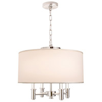 Kalco 500571CH Dupont 4 Light 20 inch Chrome Pendant Ceiling Light