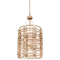 Kalco Lighting Metropolis 5 Light Foyer Pendant in Modern Gold 500650MG