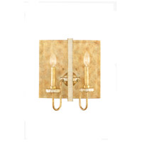 Kalco Lighting LaSalle 2 Light Wall Bracket in Honey Gold 500720HG