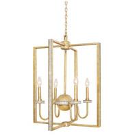 Kalco 500754HG Lasalle 4 Light 22 inch Honey Gold Foyer Ceiling Light