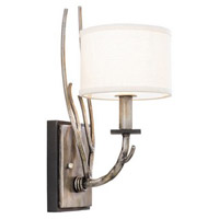 Kalco Lighting Denali 1 Light Wall Bracket in Bronze Jewel Tone 501020BJT