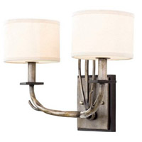 Denali 2 Light 16 inch Bronze Jewel Tone Wall Bracket Wall Light