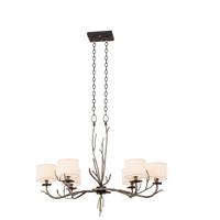 Kalco 501050BJT Denali 6 Light 21 inch Bronze Jewel Tone Chandelier Ceiling Light