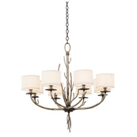 Denali 8 Light 32 inch Bronze Jewel Tone Chandelier Ceiling Light