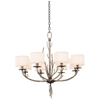 Kalco 501051BJT Denali 8 Light 32 inch Bronze Jewel Tone Chandelier Ceiling Light