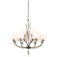 Kalco 501052BJT Denali 12 Light 34 inch Bronze Jewel Tone Chandelier Ceiling Light