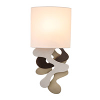 MoMA 1 Light 7 inch Mixed Metallic Wall Sconce Wall Light