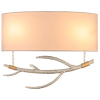 Reno 2 Light 13 inch Pearl Silver ADA Wall Sconce Wall Light