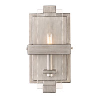Astoria 1 Light 7 inch Moon Silver Wall Sconce Wall Light
