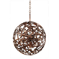 Kalco 501553CP Ambassador 12 Light 20 inch Copper Patina Pendant Ceiling Light