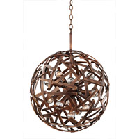 Ambassador 12 Light 20 inch Copper Patina Pendant Ceiling Light